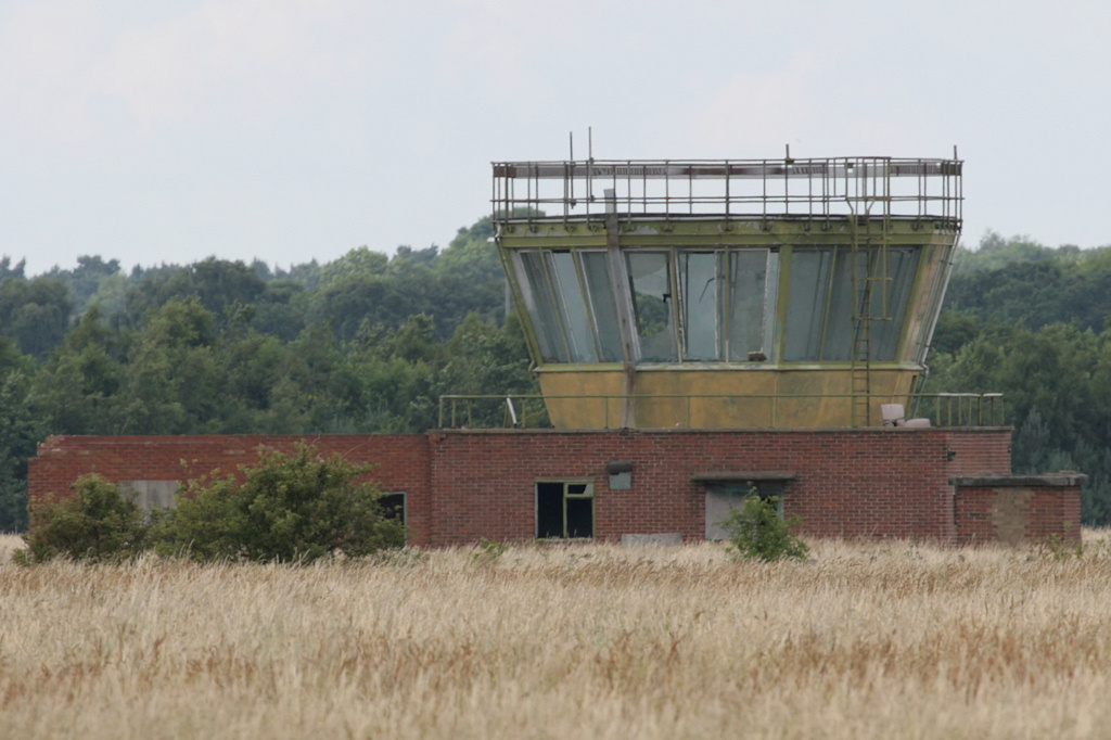 Post-war control tower