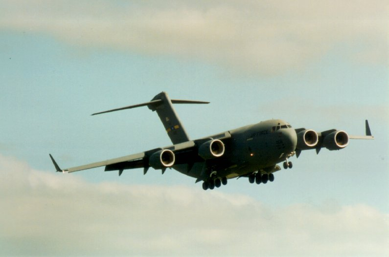 Boeing C-17A Globemaster III, United States Air Force