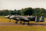 Pair of USAF A-10A Thunderbolt IIs